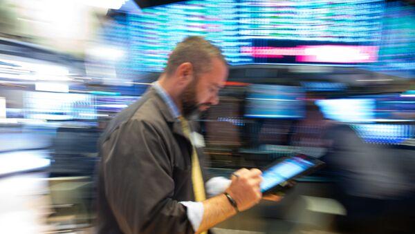 Χρηματιστής της Wall Street - Sputnik Ελλάδα