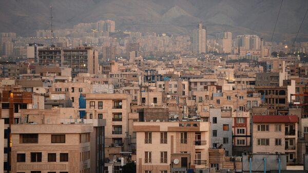 Άποψη μιας από τις γειτονιές της Τεχεράνης - Sputnik Ελλάδα