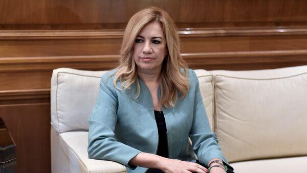 Η πρόεδρος του ΠΑΣΟΚ Φώφη Γεννηματά - Sputnik Ελλάδα