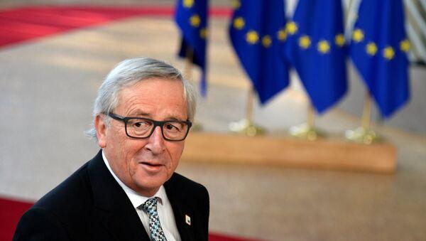 O πρόεδρος της Ευρωπαϊκής Επιτροπής Ζαν-Κλοντ Γιούνκερ - Sputnik Ελλάδα