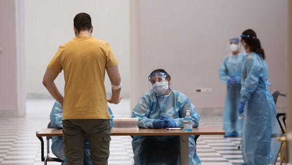 Εθελοντική αιμοδοσία στο Ζάππειο - Sputnik Ελλάδα