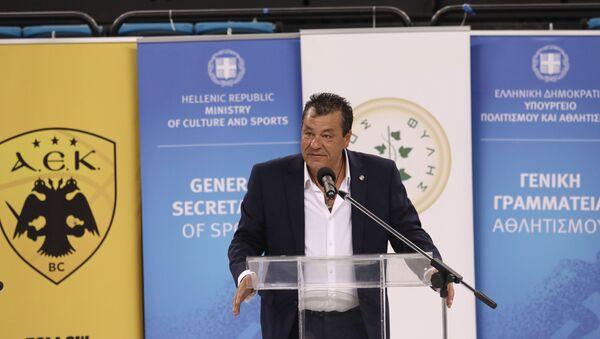 Ο Δήμαρχος Φυλής, Χρήστος Παππούς - Sputnik Ελλάδα