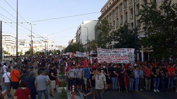 Συγκέντρωση στην Αθήνα - Sputnik Ελλάδα