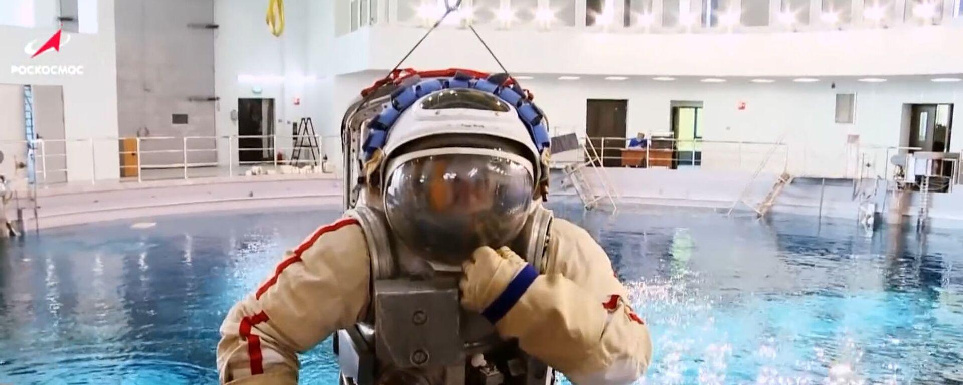 Υποβρύχιος κόσμος: Έτσι μαθαίνουν οι κοσμοναύτες να περπατούν στο διάστημα - Sputnik Ελλάδα, 1920, 18.07.2020
