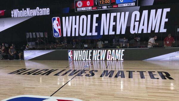 Άποψη από αγωνιστικό χώρο του NBA μετά την επανέναρξη - Sputnik Ελλάδα