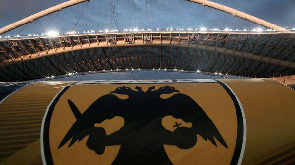 Το σήμα της ΑΕΚ στον πάγκο του ΟΑΚΑ - Sputnik Ελλάδα