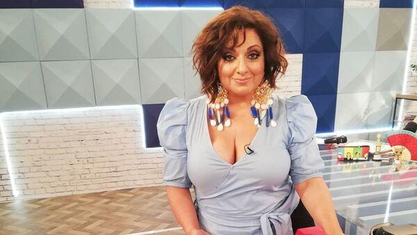 Η Σοφία Μουτίδου στο πλατό της εκπομπής «The Booth» (Open) - Sputnik Ελλάδα