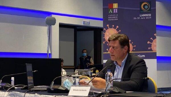 Ο αναπληρωτής υπουργός Εξωτερικών, Μιλτιάδης Βαρβιτσιώτης - Sputnik Ελλάδα