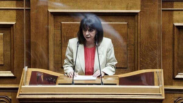 Ομιλία Σακελλαροπούλου στη Βουλή - Sputnik Ελλάδα