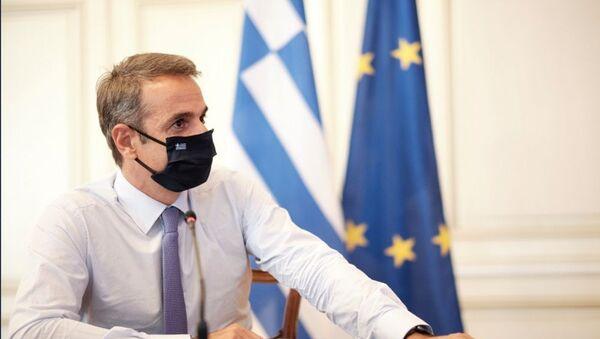 Ο πρωθυπουργός Κυριάκος Μητσοτάκης - Sputnik Ελλάδα
