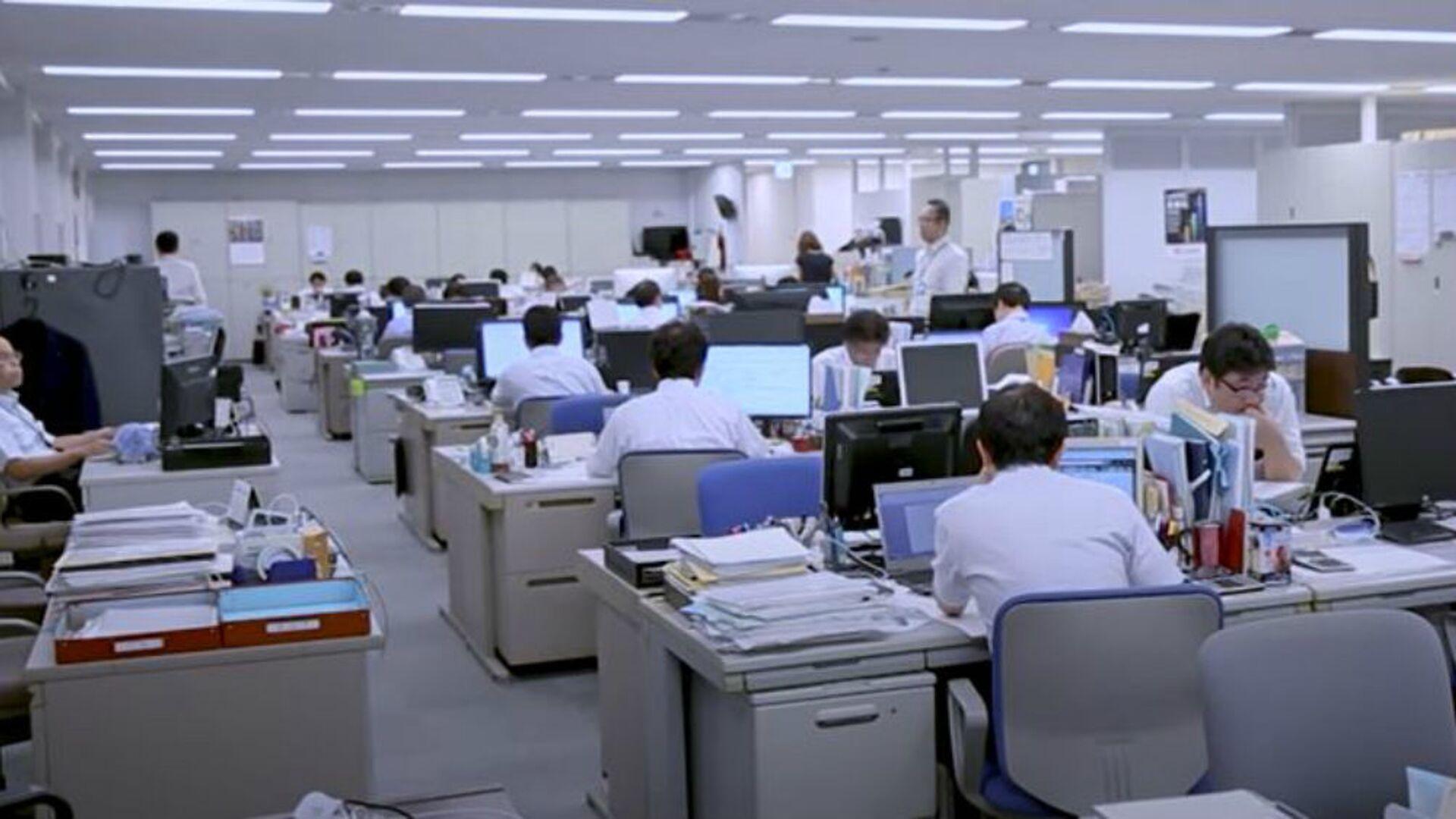Γραφείο στην Ιαπωνία (φωτ. αρχείου) - Sputnik Ελλάδα, 1920, 07.10.2021