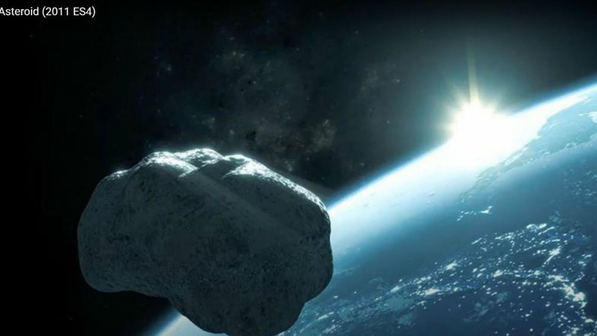 Καλλιτεχνική αναπαράσταση αστεροειδή - Sputnik Ελλάδα, 1920, 26.09.2021