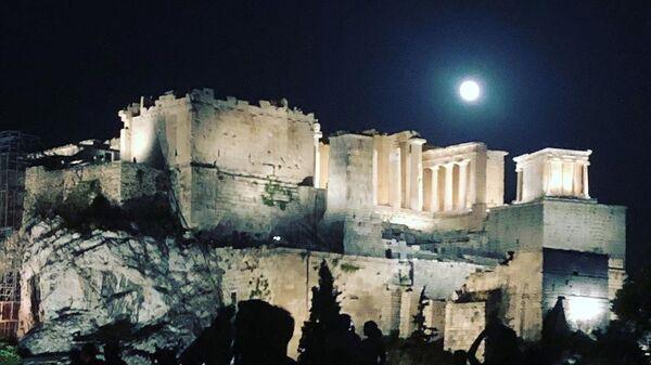 Πανσέληνος στην Αθήνα, 2 Σεπτεμβρίου 2020 - Sputnik Ελλάδα