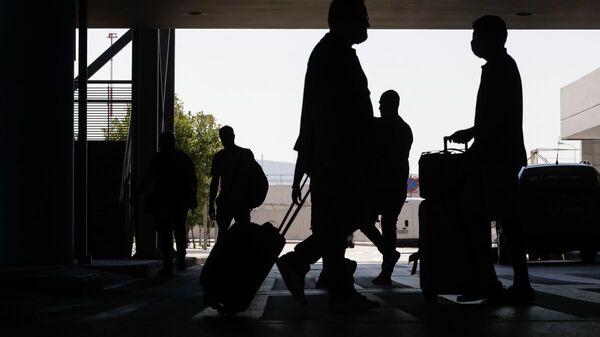 Έναρξη άφιξης διεθνών πτήσεων στο αεροδρόμιο Μακεδονία - Sputnik Ελλάδα