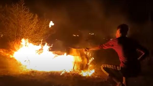 Φωτιά στο ΚΥΤ - Sputnik Ελλάδα