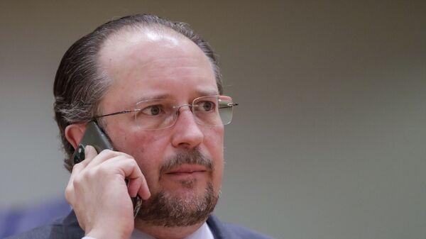 O υπουργός Εξωτερικών της Αυστρίας, Αλεξάντερ Σάλενμπεργκ - Sputnik Ελλάδα
