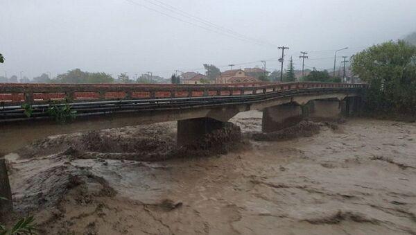 Κυκλώνας Ιανός: Αγνοείται οδηγός ΙΧ στο Μουζάκι Καρδίτσας - Sputnik Ελλάδα