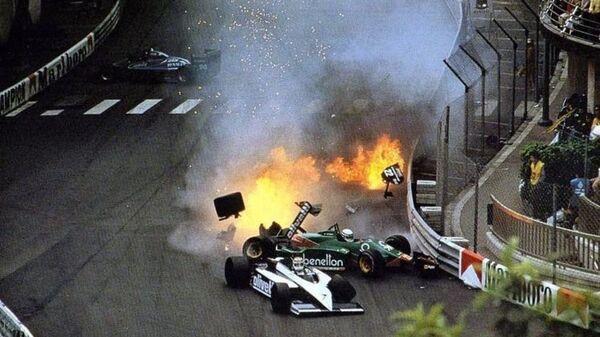 Σύγκρουση του Νέλσον Πικέ το 1985 στο Μονακό - Sputnik Ελλάδα