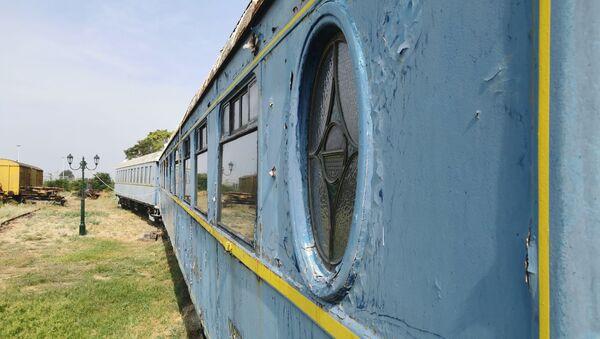 Τα δύο βαγόνια του διάσημου τρένου Orient Express που βρίσκονται στη Θεσσαλονίκη - Sputnik Ελλάδα