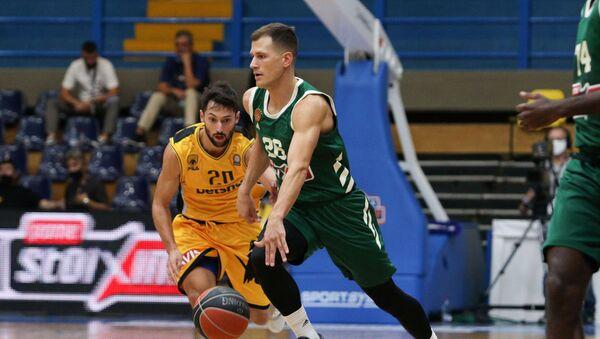 Ο Νεμάνια Νέντοβιτς στον αγώνα Παναθηναϊκός - ΑΕΚ - Sputnik Ελλάδα