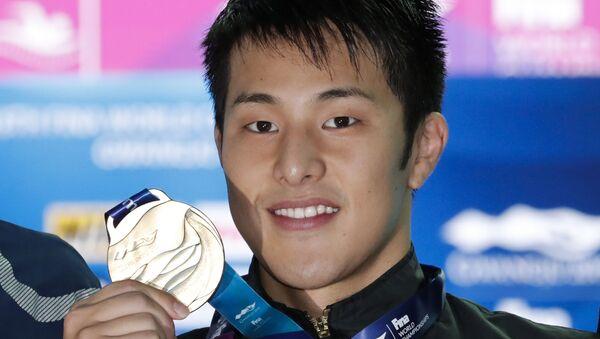 Ο Ιάπωνας παγκόσμιος πρωταθλητής της κολύμβησης, Ντάιγια Σέτο - Sputnik Ελλάδα