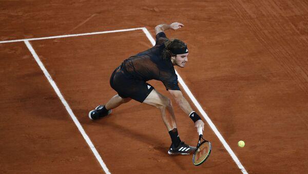 Ο Τσιτσιπάς στο Roland Garros 2020 - Sputnik Ελλάδα