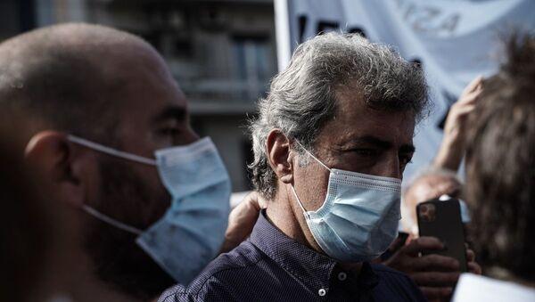 Ο Παύλος Πολάκης στη δίκη της Χρυσής Αυγής - Sputnik Ελλάδα