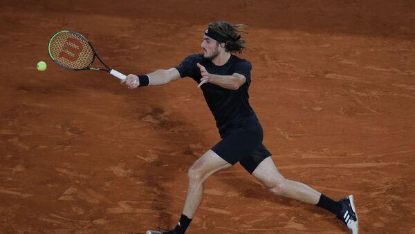 Ο Τσιτσιπάς στον ημιτελικό του Roland Garros - Sputnik Ελλάδα