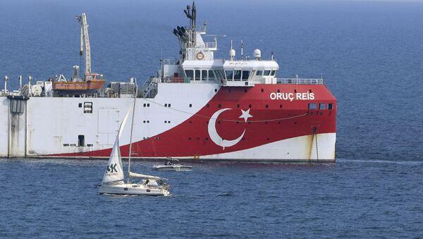 Το τουρκικό ερευνητικό σκάφος Oruc Reis - Sputnik Ελλάδα
