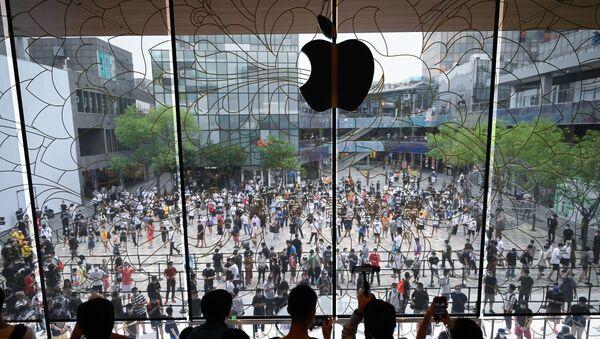 Το νέο κατάστημα της Apple στο Πεκίνο άνοιξε στις 17 Ιουλίου 2020  - Sputnik Ελλάδα