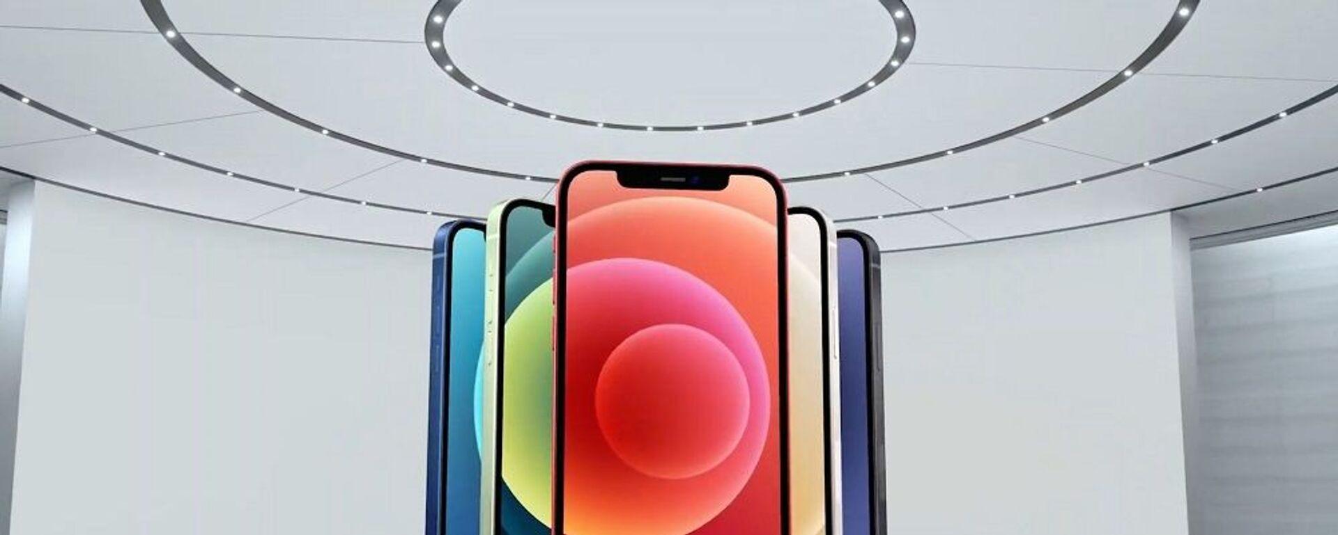 Τα χρώματα στα οποία θα κυκλοφορήσει το νέο iPhone 12 - Sputnik Ελλάδα, 1920, 29.06.2021
