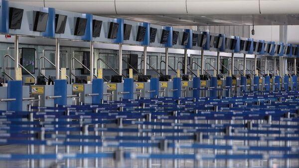 Άδειο αεροδρόμιο Ελευθέριος Βενιζέλος - Sputnik Ελλάδα