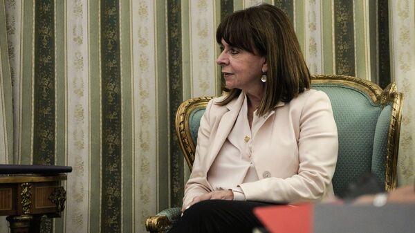 Κατερίνα Σακελλαροπούλου - Sputnik Ελλάδα