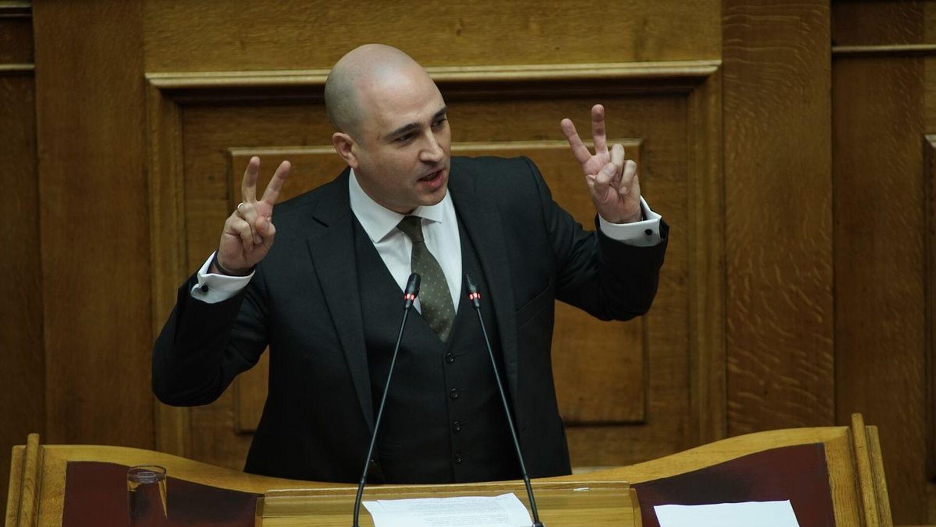 Κωνσταντίνος Μπογδάνος στη Βουλή - Sputnik Ελλάδα, 1920, 07.09.2021