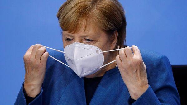 Η καγκελάριος της Γερμανίας Άνγκελα Μέρκελ - Sputnik Ελλάδα