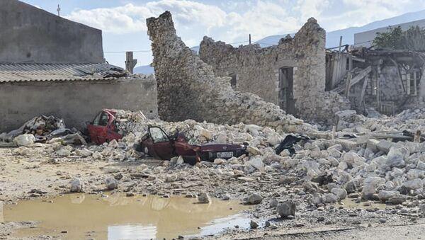 Σεισμός στη Σάμο - Sputnik Ελλάδα