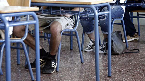 Μαθητές σε τάξη  - Sputnik Ελλάδα