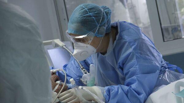 ΜΕΘ σε νοσοκομείο της Αττικής - Sputnik Ελλάδα