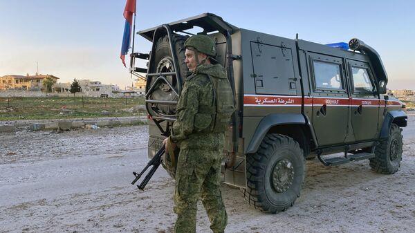 Ρωσική στρατιωτική αστυνομία στη Συρία - Sputnik Ελλάδα