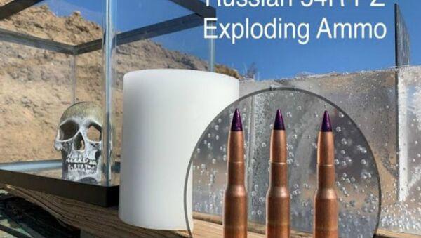 Μπλόγκερ δοκιμάζουν εκρηκτικές σφαίρες Σοβιετικών sniper από τον 2ο Παγκόσμιο Πόλεμο - Sputnik Ελλάδα