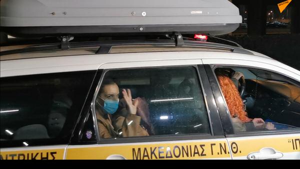 'Εφτασαν στη Θεσσαλονίκη 10 νοσηλευτριες από την Κρήτη - Sputnik Ελλάδα