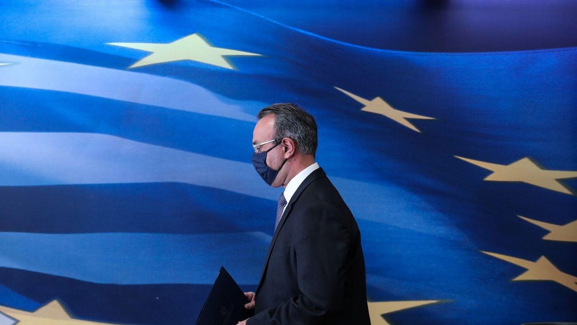Ο υπουργός Οικονομικών, Χρήστος Σταϊκούρας - Sputnik Ελλάδα, 1920, 29.09.2021