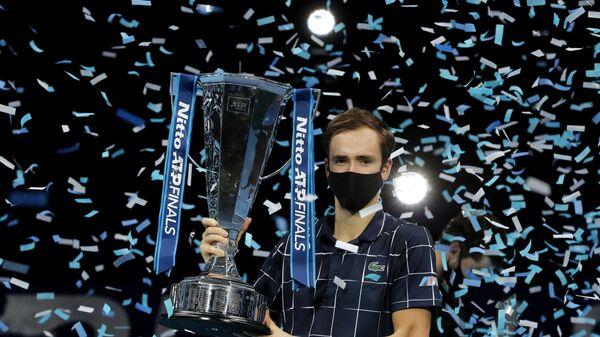 Ο Ντανιίλ Μεντβέντεφ στο ATP Finals 2020 - Sputnik Ελλάδα