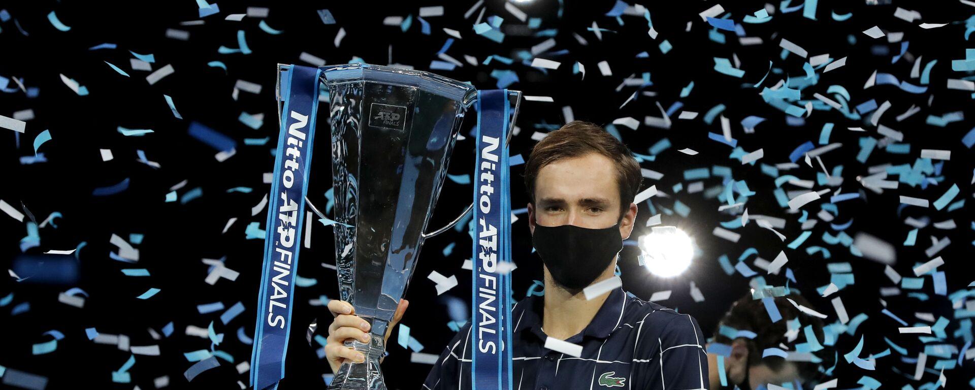 Ο Ντανιίλ Μεντβέντεφ στο ATP Finals 2020 - Sputnik Ελλάδα, 1920, 23.11.2020