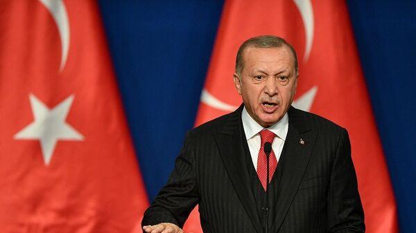Ο Τούρκος πρόεδρος, Ρετζέπ Ταγίπ Ερντογάν - Sputnik Ελλάδα