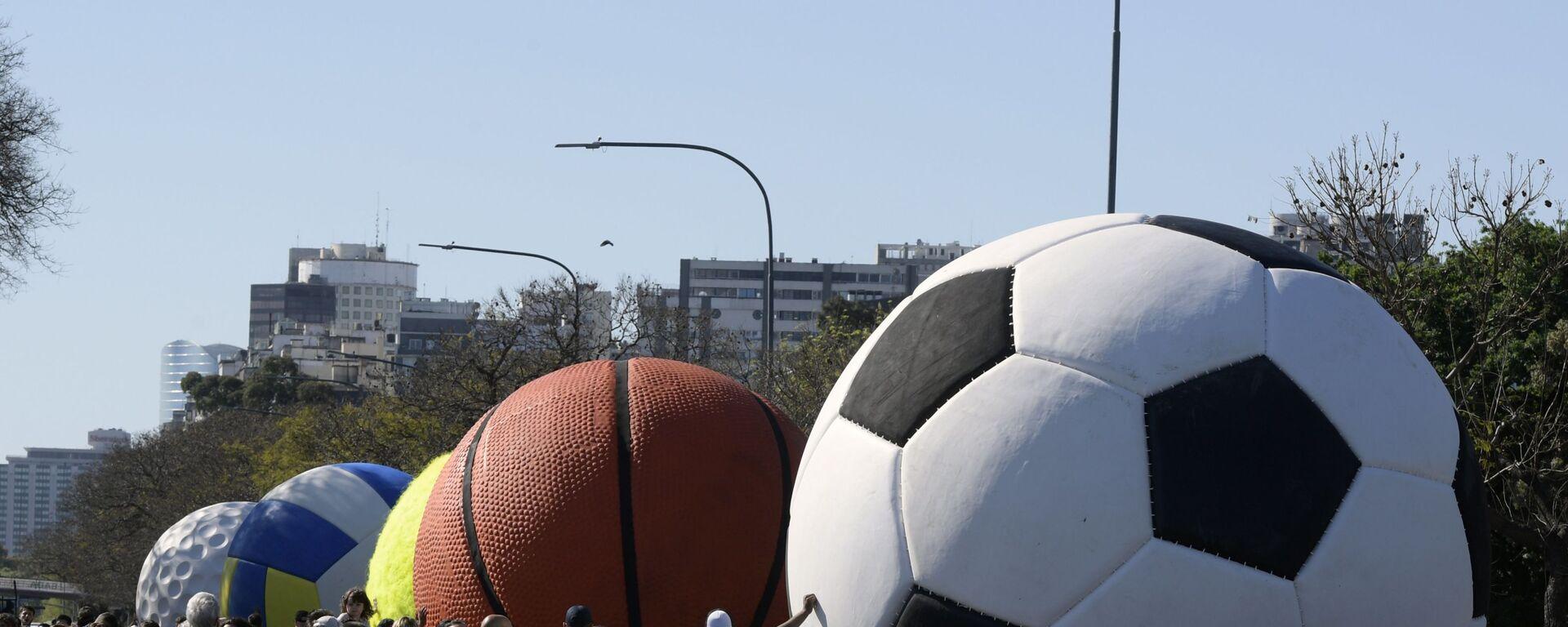 μπάλα ποδοσφαίρου και μπάσκετ - Sputnik Ελλάδα, 1920, 02.02.2021