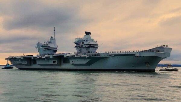 Το αεροπλανοφόρο της Μεγάλης Βρετανίας HMS Prince of Wales - Sputnik Ελλάδα