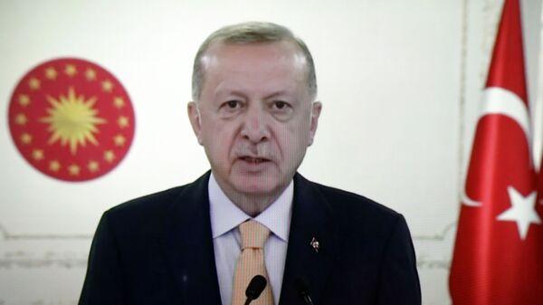 Ο Τούρκος Πρόεδρος Ρετζέπ Ταγίπ Ερντογάν - Sputnik Ελλάδα