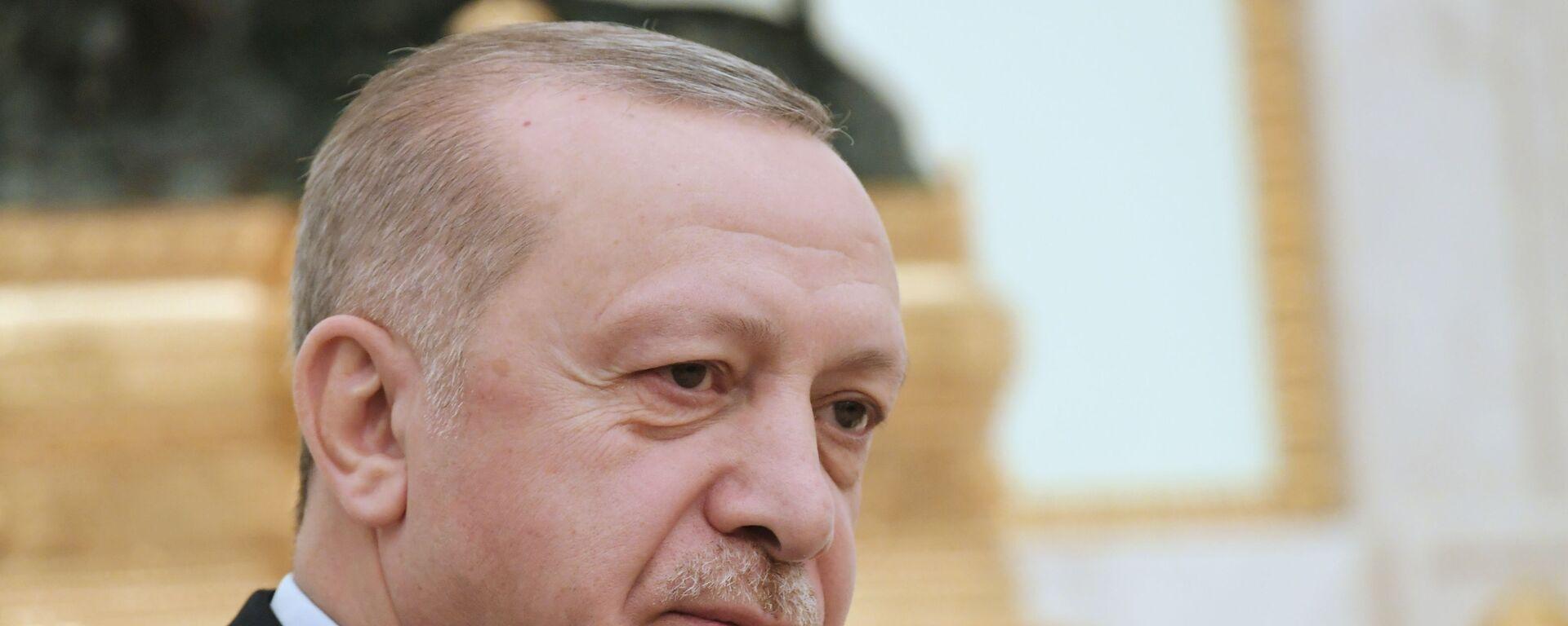 Ο Τούρκος Πρόεδρος Ρετζέπ Ταγίπ Ερντογάν - Sputnik Ελλάδα, 1920, 24.09.2021
