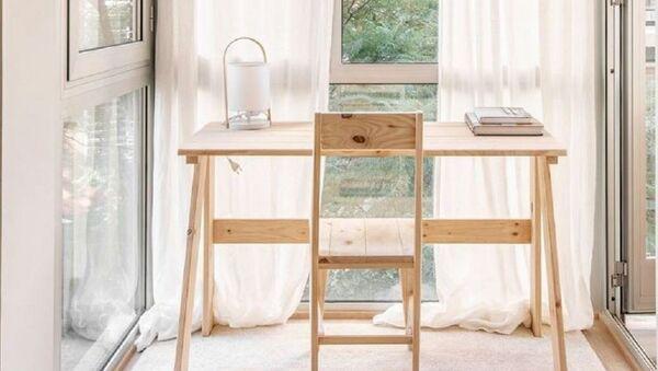 Τραπέζι και καρέκλα της βασκικής εταιρείας επίπλων Muebles LUFE - Sputnik Ελλάδα
